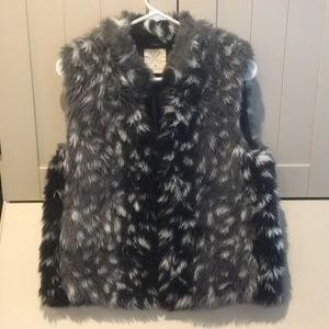 Urban Outfitters, Pins and Needles Faux Fur Vest